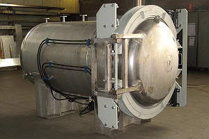 autoclave orizzontale